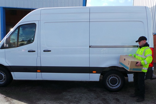 Delivery Vehicle Loading Image